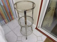 MARKS AND SPENCER STAINLESS STEEL 3 TIER VEGETABLE RACK USED BUT VGC £10