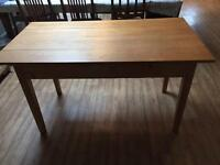 Victorian Pine Farm House Table