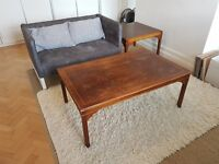 Two wood coffee tables - pick up Friday or Saturday