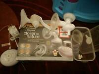 Tommee Tippee Electric and Manual Breast Pump kit