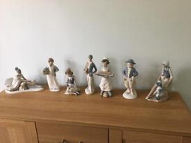 Spanish porcelain figurines