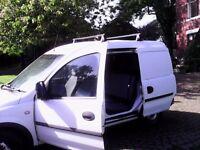 Vauxhall combi van