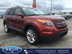 2014 Ford Explorer Limited, Bluetooth, Nav