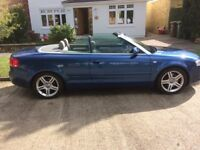 Audi A4 cabriolet for sale - beautiful car priced to sell.