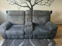 Two seat couch, barely used, less than 12 month's old