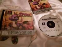 PS1 spyro games