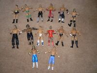 WWE FIGURES.JOBLOT.JAKKS.2003/4/5.