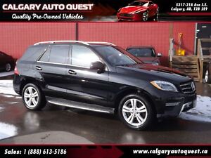 2014 Mercedes-Benz M-Class ML350 BlueTEC 4MATIC AWD/NAVI/B.CAM/L
