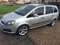 Vauxhall zafira very cheap family car