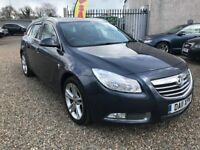 2011 Vauxhall Insignia 2.0 CDTi 16v SRi 5dr Finance Available Hpi Clear, 3 Month RAC Warranty
