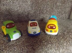 Vtech Toot Toot Drivers vehicles X 3