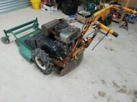 Hayter Condor Mower with Kubota Diesel Engine Rough cut mower