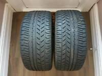 2x Pirelli P Zero Asimmetrico 235 35 ZR18 86Y Tyres