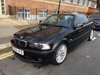 BMW 330 CI M SPORT CONVERTIBLE 2002 AUTOMATIC 14 STAMPS,FULL COMPREHENSIVE HISTORY CLEAN CAR!!