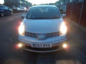 Nissan Note Acenta 57 plate. Very good condition. Bluetooth connectivity. Recently serviced.