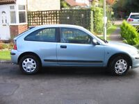 Rover 25 iL Turbo Diesel, Manual, Only one previous owner , Full Service History, Blue, MOT April 17
