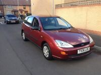 1999 ford focus 1.8 1 years mot