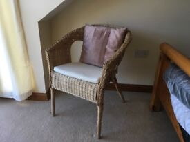 Wicker Chair in Good Condition