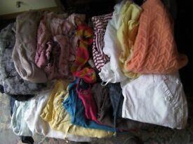 Large Bundle of Ladies Clothes Size 10