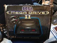 Sega megadrive boxed console