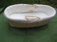 Mothercare Moses Basket with Mattress