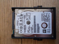 Hitachi 500GB SATA 3 Hard Disk Drive (7mm thick - ideal for upgrading notebooks)