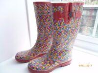 Ladies Wellington Boots size 6