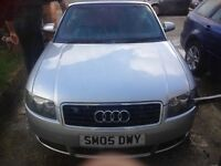 AUDI A4 CONVERTIBLE 2.5 DIESEL IMMACULATE CONDITION.