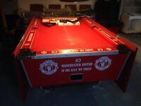 7 foot Super League pool table pub style