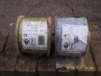 11 Rolls of Doncaster Insulated Conduit Electrical Cable