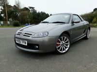 2005 MG TF 1.8 PETROL SPARKS 135 LIMITED EDITION CONVERTIBLE - LONG MOT - HARD TOP - WARRANTY