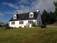 House for sale in Laide, Wester Ross. Ideal Family/Holiday home.