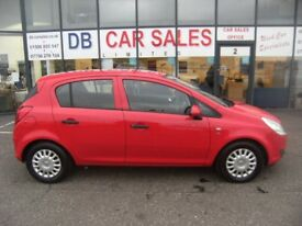 2010 10 VAUXHALL CORSA 1.2 S A/C 5D 83 BHP***GUARANTEED FINANCE***PART EX WELCOME***