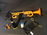 pTrumpet with mute