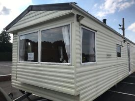 STATIC CARAVAN AT STOURPORT ON SEVERN CLUB PLAY AREA SHOP AND CHIP VAN ON SITE