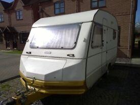 RETRO TOURING CARAVAN - Aluminium Skin - Galvanised Chassis - Clean & Dry & Ready to Go!