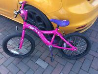 Apollo Star Girls bike 18 inch wheels