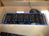 citronic dj disco cdm8.4 mixer blue