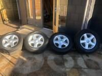 Isuzu Dmax alloy wheels (2012)
