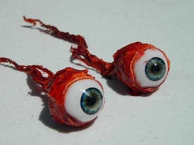 Halloween Horror Prop Realistic Life Size Pair of  Ripped Out Eyeballs -  FL02 (Life Size Horror Props)