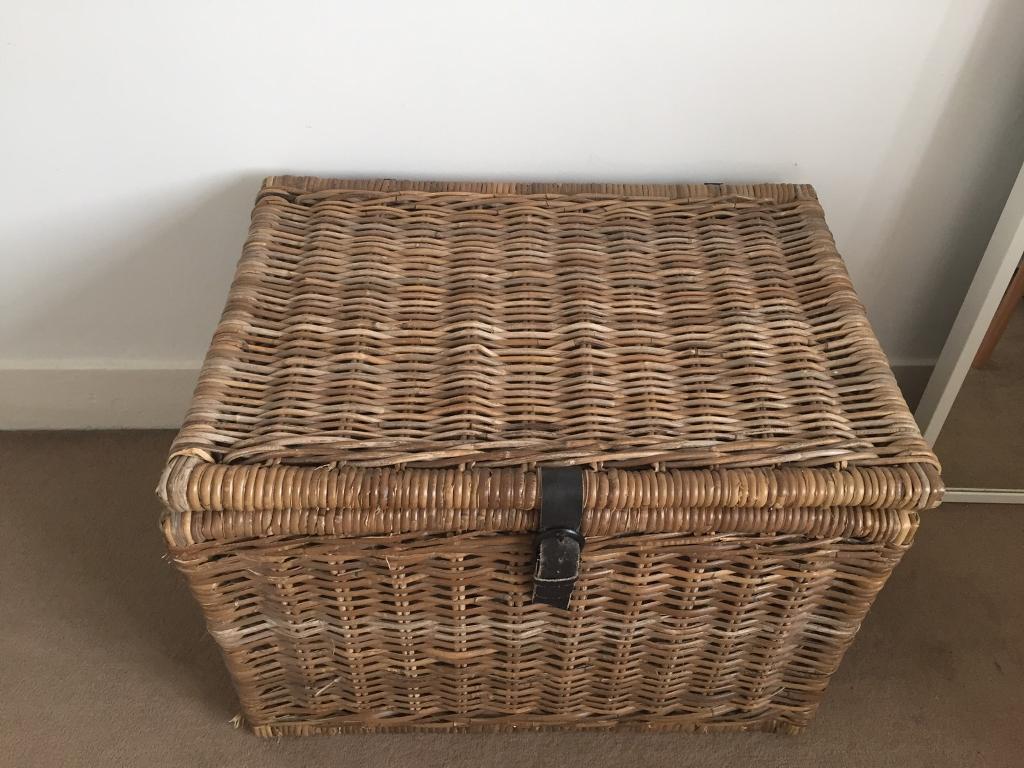 ikea wicker chest in islington london gumtree. Black Bedroom Furniture Sets. Home Design Ideas
