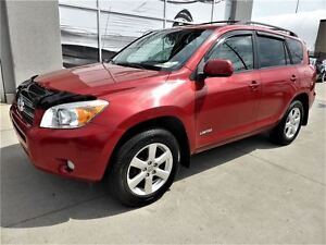 2008 Toyota RAV4 Limited AWD Sunroof