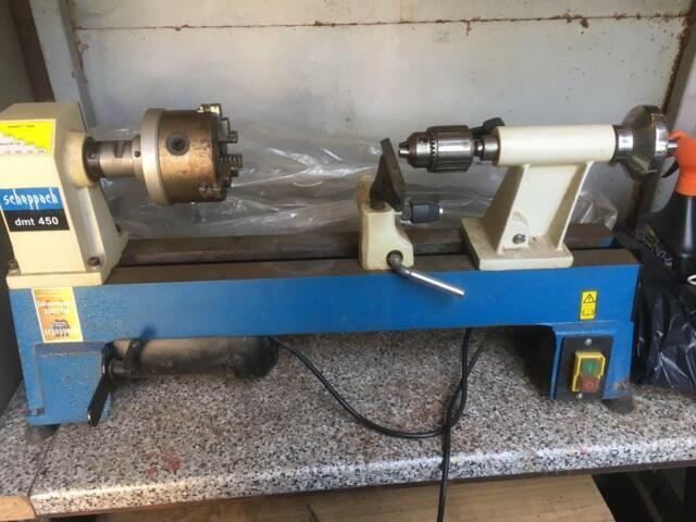 Scheppach dmt 450 Wood Turning Lathe with chuck Assembly | in Bishopbriggs,  Glasgow | Gumtree