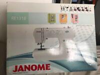 Janome sewing machine RE1318