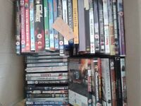 DVDs for sale 150 dvds £30, 100 DVDS £20, 70 dvds (inc 3 x bluray) £15, NO OFFERS