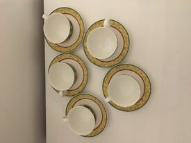 Royal Doulton Augustine Tea Cups & Saucers