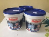 3 tubs of unibond grout and adehesive as new £10 only