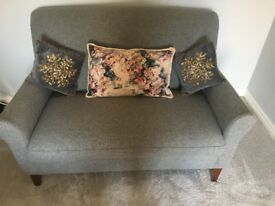 Grey wool cuddle chair / sofa - Marks and Spencer - Barely used