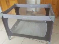 travel cot £30 used once