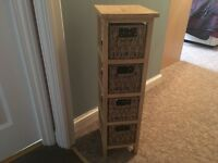 4 draw storage unit